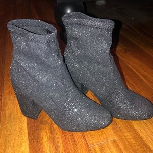 Express Sparkly Booties